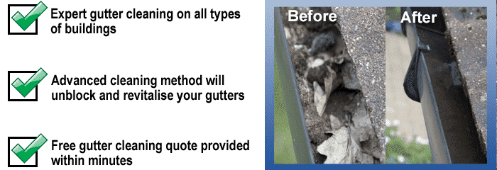 Guttering Cleaning Prices