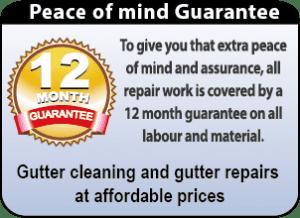 gutter repairs, gutter gurantee