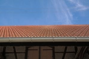 fascia and soffits on a roof