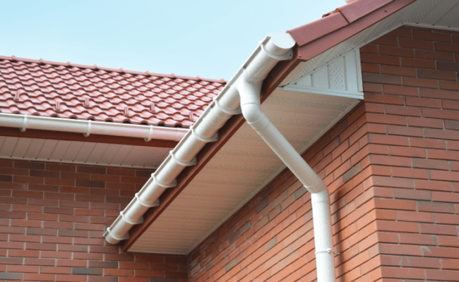 Brand new fascias and soffits